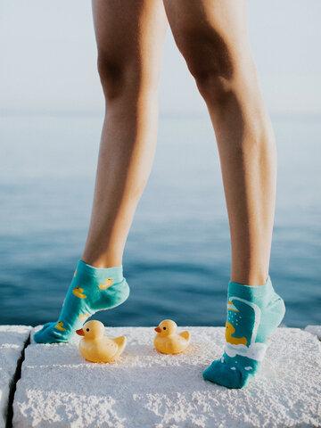 Tip na darček Veselé členkové ponožky Kačičky