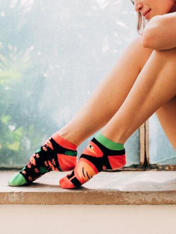 Tip na darček Vesele stopalice Flamingosi
