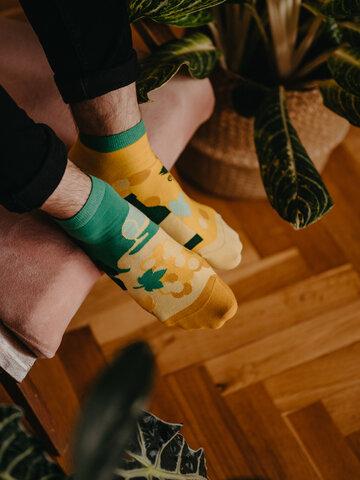 Výnimočný darček od Dedoles Živahne kratke nogavice Trta
