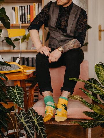 Tip na darček Živahne kratke nogavice Trta