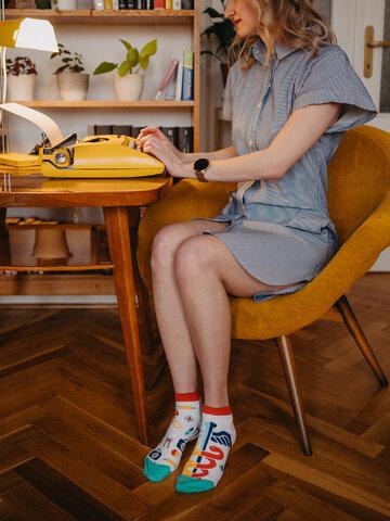Pre dokonalý a originálny outfit Živahne kratke nogavice Zdravje