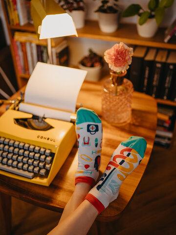 Lifestyle foto Živahne kratke nogavice Zdravje