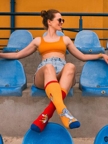 Gift idea Sport Socks Tom and Jerry™ Stars