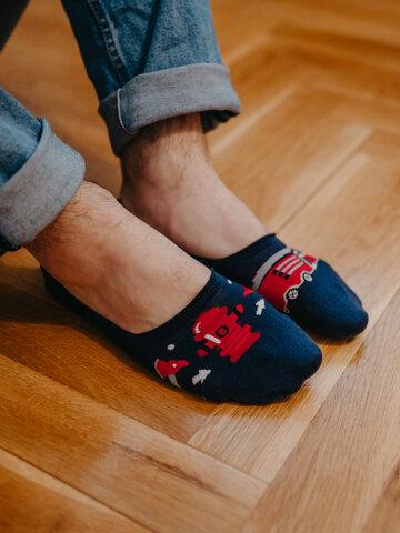 Tip na darček Vesele niske stopalice Vatrogasac