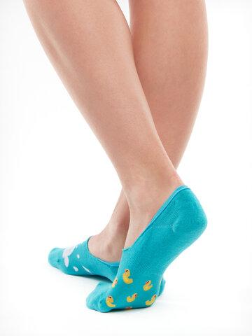 Pre dokonalý a originálny outfit No Show Socks Ducks