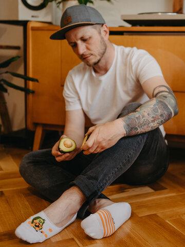 Výpredaj Vesele niske stopalice Smiješni avokado