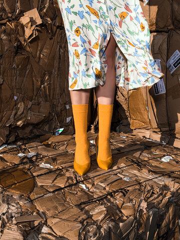 Hľadáte originálny a nezvyčajný darček? Obdarovaného zaručene prekvapí Čarape od recikliranog pamuka Jantar