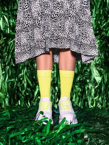 Lifestyle photo Recycled Cotton Socks Lemonade