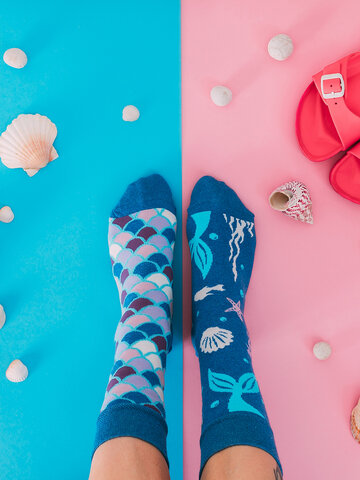 Tip na darček Весели чорапи от рециклиран памук Русалка