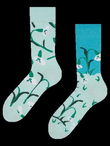 Pre dokonalý a originálny outfit Recycled Cotton Socks Snowdrops