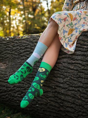Zľava Vesele eko čarape Posadi drvo