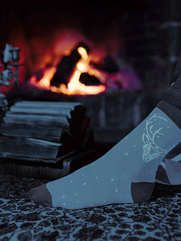 Bereiten Sie sich Freude mit diesem Dedoles-Stück Lustige Socken Harry Potter ™ - Expecto Patronum