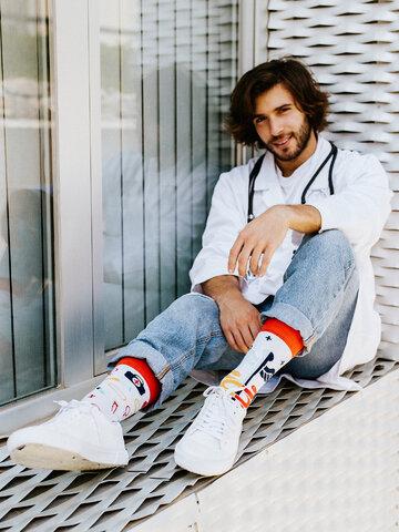 Pre dokonalý a originálny outfit Vrolijke sokken Gezondheid