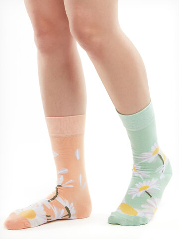 Pre dokonalý a originálny outfit Bamboo Regular Socks Daisy
