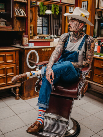 Tip na darček Živahne nogavice Brivnica