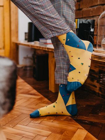 Lifestyle foto Veselé ponožky Bouldering