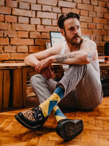 Potěšte se tímto kouskem Dedoles Veselé ponožky Bouldering