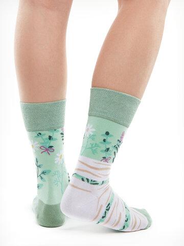 Bereiten Sie sich Freude mit diesem Dedoles-Stück Lustige Socken Kräuter