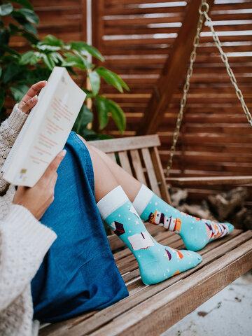 Gift idea Regular Socks Magic Books