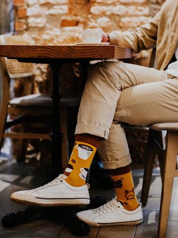 Lifestyle photo Regular Socks Coffee Time