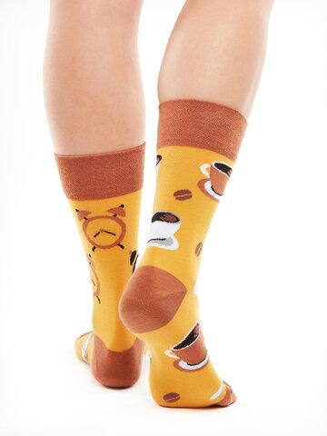 Pre dokonalý a originálny outfit Regular Socks Coffee Time