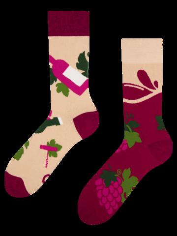 Obrázok produktu Veselé ponožky Čas na víno