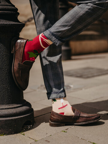 Výpredaj Veselé ponožky Čas na víno