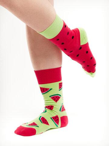 Potešte sa týmto kúskom Dedoles Veselé ponožky Červený melón