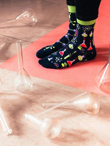 Sleva Veselé ponožky Chemie
