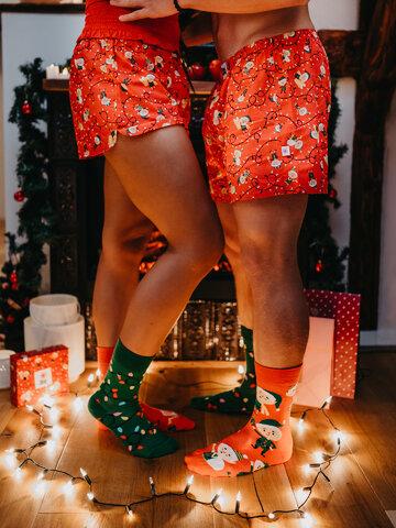 pro dokonalý a originální outfit Veselé ponožky Elfové