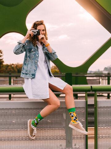 Ausverkauf Lustige Socken Kamera
