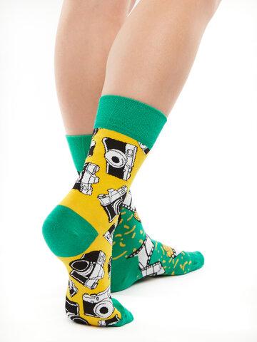 Rabatt Lustige Socken Kamera