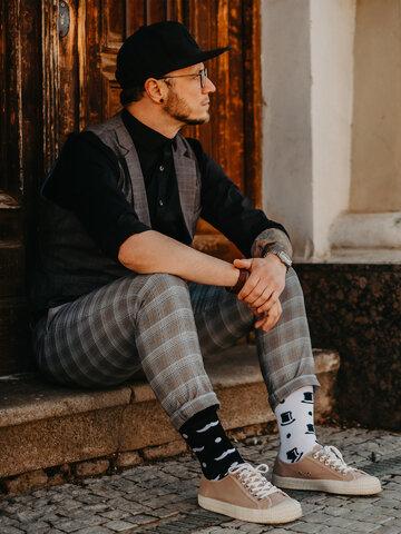 Výprodej Veselé ponožky Gentleman