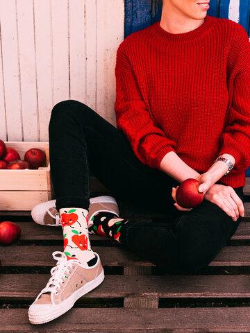 Výnimočný darček od Dedoles Veselé ponožky Jablká