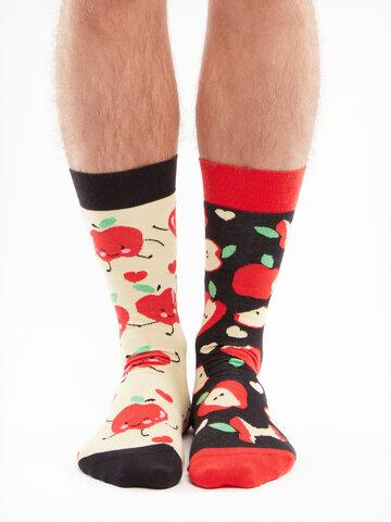 Obrázok produktu Veselé ponožky Jablká