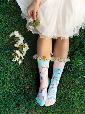 Gift idea Regular Socks Unicorn