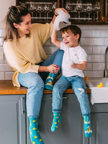 Obrázok produktu Veselé ponožky Kačičky