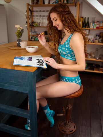 Potešte sa týmto kúskom Dedoles Vesele čarape Kamilice