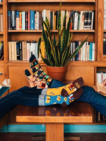 Gift idea Regular Socks Books