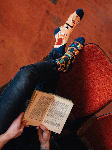 Výpredaj Vesele čarape Knjižnica