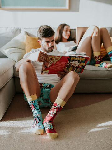 Sale Regular Socks Comics