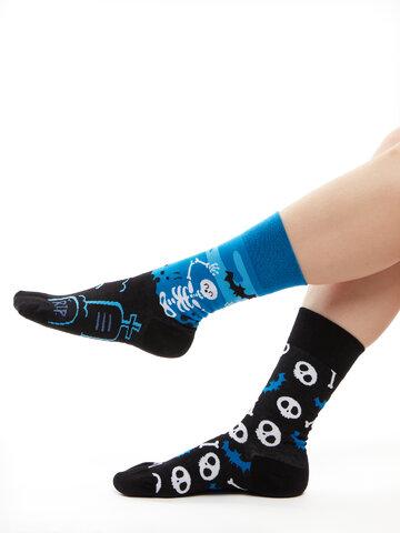 Výnimočný darček od Dedoles Živahne nogavice Okostnjaki