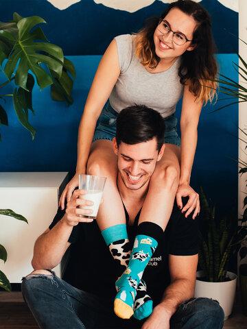 Tip na dárek Veselé ponožky Kráva