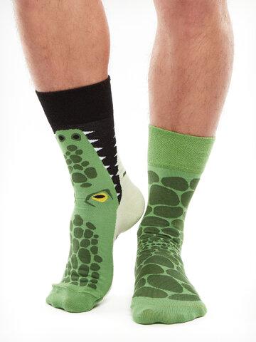 Hľadáte originálny a nezvyčajný darček? Obdarovaného zaručene prekvapí Vesele čarape Krokodil