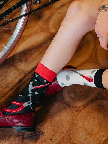 Tip na darček Veselé ponožky Kutil