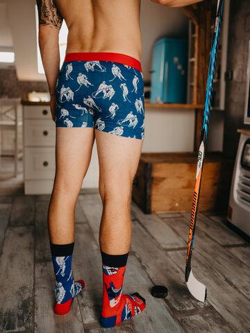 Foto Veselé ponožky Lední hokej