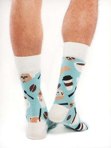Potešte sa týmto kúskom Dedoles Regular Socks Sloth in a Cup