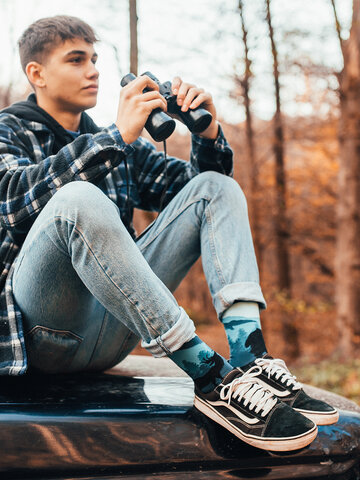 Lifestyle photo Regular Socks Forest