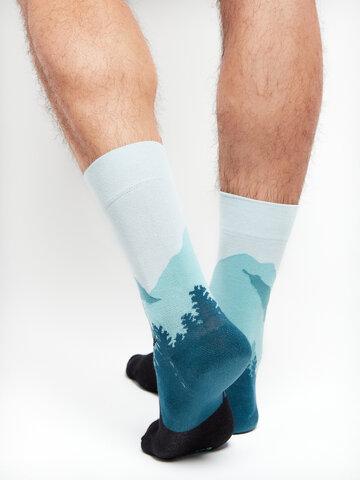 Gift idea Regular Socks Forest