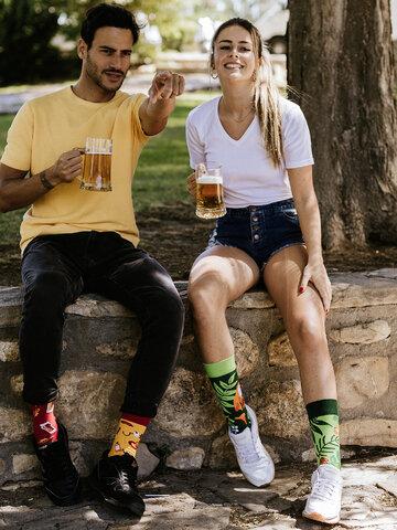 Lifestyle-Foto Lustige Socken Waldtiere